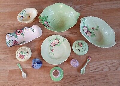 12 Pieces Of Assorted Vintage Carlton Ware • 18£