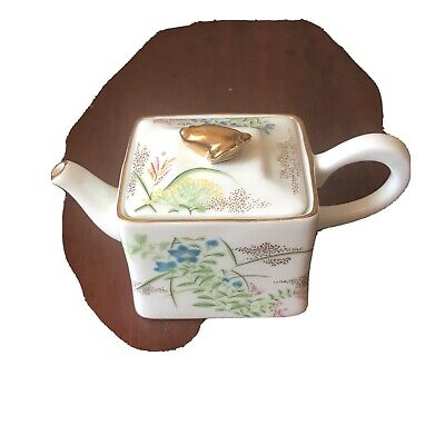 Victoria And Albert Museum Kyoto Small Teapot Miniature By Franklin Mint China • 5£