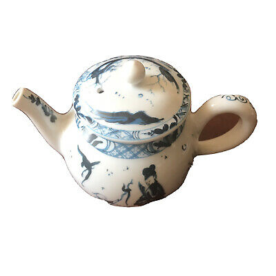 Victoria And Albert Museum Worcester Small Teapot Miniature Franklin Mint China • 3.50£