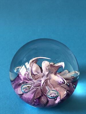 Selkirk Glass Paperweight • 12£