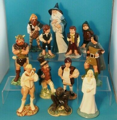 Rare Royal Doulton Lord Of The Rings Set Of 12 • 500£