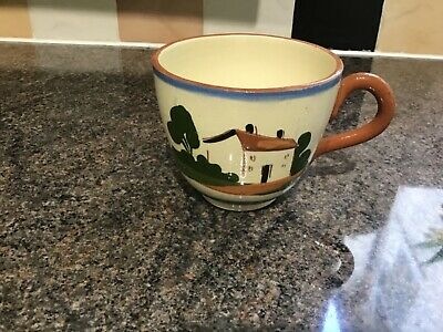 Royal Watcombe Pottery Motto Ware Tea/ Coffee Cup. • 4£