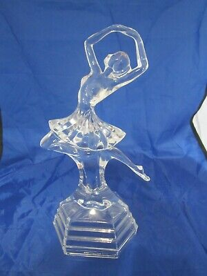Tall Glass Ballerina Figurine • 10£