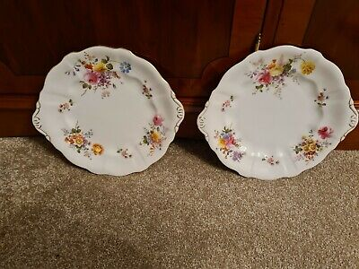 Royal Crown Derby Posies 2 X Cake Serving Plates  • 0.99£