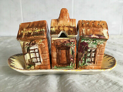 Vintage Price Cottage Cruet Set With Tray~early Pre Kensington Very Collectible • 8.99£