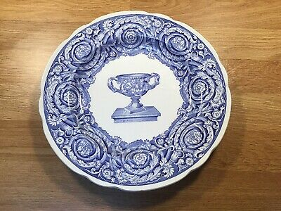 Spode Blue Room Collection Plate  Warwick Vase  9in • 10£