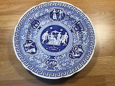 Spode Blue Room Collection Greek Plate • 10£