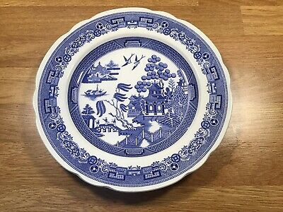 """Spode Blue Room Collection 'Willow' Plate 9"""" • 10£"""