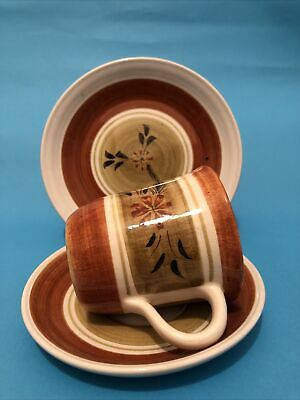 Cup Saucer And Plate - Babbacombe Pottery • 6.50£