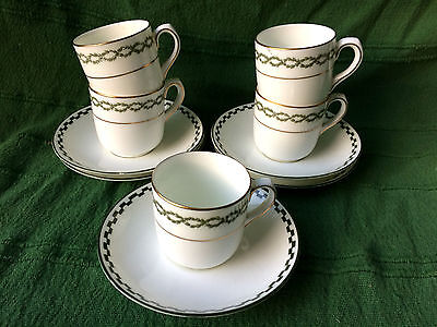 Early 20th Century Royal Doulton Porcelain 5 Cups And Saucers No 2529 • 30£