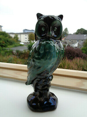 Vintage, Canadian, Mountain, Blue, Perched, Owl • 5£