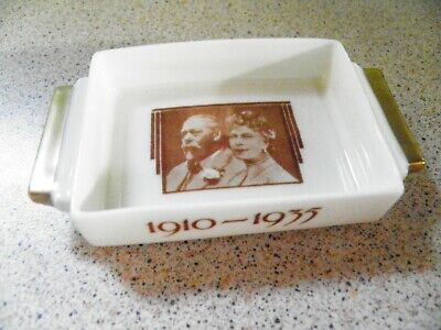 Royal Doulton Silver Jubilee Of King George V Queen Mary 1910 1935 Pin Dish  • 5£