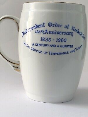 125th Anniversary Of The Independent Order Of Rehabitats 1835- 1960 Commemorati • 4£