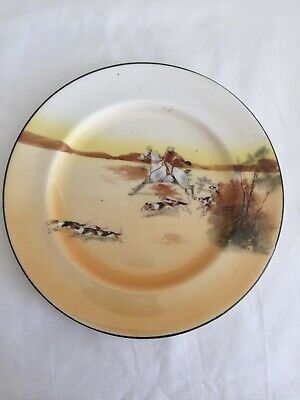 Vintage Royal  Doulton Series Ware Fox Hunting Plate • 6.50£