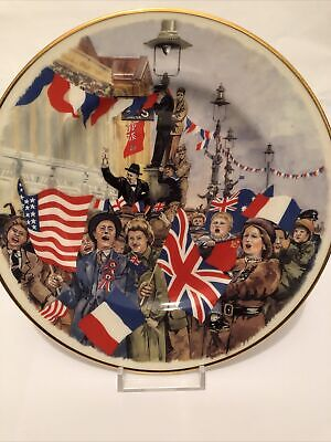 50th Anniversary Of VE Day 1995 Commemorative Porcelain • 5£
