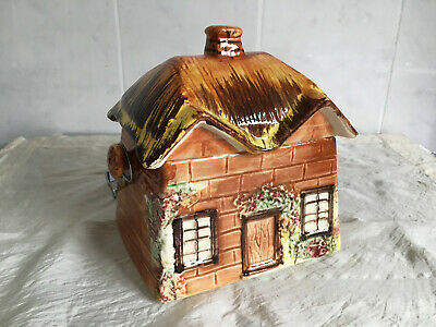 Vintage Price Cottage Biscuit Barrel China Porcelain ~ Very Collectible • 10.99£