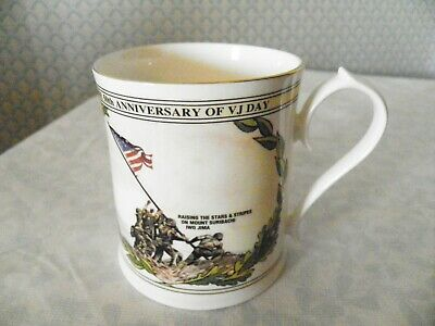 Aynsley Mug To Commemorate 50th Anniversary V J Day 15th August 1945 1995  • 5£