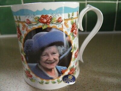 Aynsley Mug To Commemorate The Centenary Of Queen Mother Limited Edition 5000 • 5£
