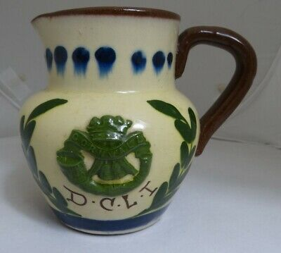 Torquay Pottery Duke Of Cornwall Light Infantry Jug • 78£