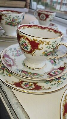 Stunning FOLEY TEA SET *Broadway* VERY GOOD CONDITION For Afternoon Tea • 40£