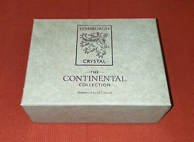 Edinburgh Crystal Continental Collection Brandy Whisky Glasses • 4.99£