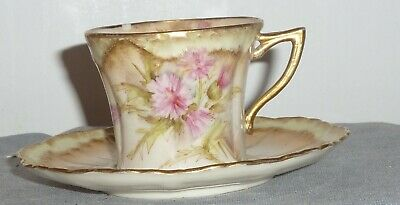 Scottish Pottery  Nautilus Pottery Glasgow Cup And Saucer • 14.99£