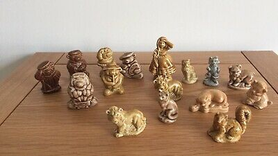 Wade Whimsies Tom Smith Christmas Crackers Bears And Cats Plus Little Bo Peep • 12£