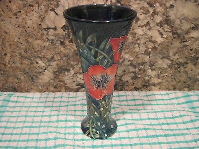 OLD TUPTON WARE TUBE LINED VASE. 20 Cm TALL. AS PICTURED. • 16£