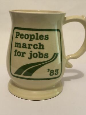 Peoples March For Jobs 83 - Sylvac Pottery • 4.99£