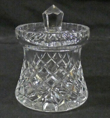 Vintage Quality Lead Crystal Lidded Preserve Jam Honey Pot     Sh14 • 13.99£