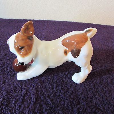 Royal Doulton Terrier Puppy With Ball  HN 1103 • 25£
