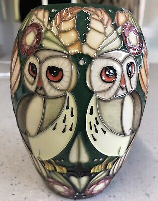 Moorcroft Path Of Just Vase Limited Edition Number 19 Of 25 • 249£