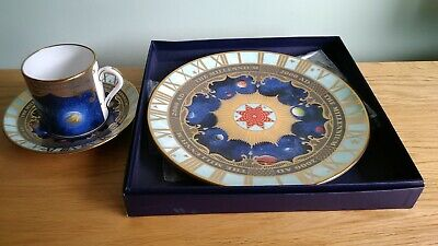 Royal Worcester    MILLENIUM TRIO.       Coffee Can / Saucer & Matching Plate • 19.99£