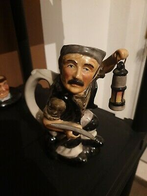 Roy Kirkham Staffordshire Pottery Coal Miner Toby Jug With Pick Character Jug  • 4.99£