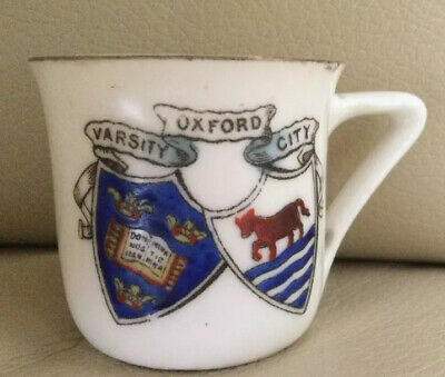 Crested Gemma China Small Cup, Oxford Crest • 1.99£