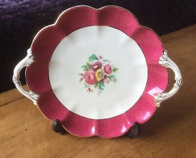 Antique C1893-1921 George Jones & Sons Crescent China Handled Open Serving Plate • 8.95£
