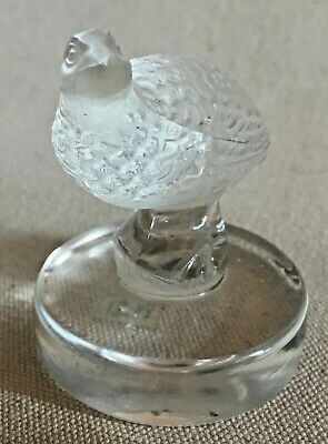 Lalique Art Glass Dove Paperweight • 72.93£