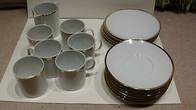Thomas Germany Deep Gold Band Tea/coffee Set X 18 Pieces • 18£
