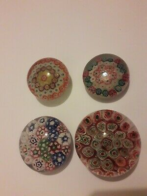 4 Cane Paperweights  • 5.19£