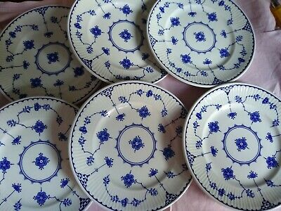 6 Blue Denmark Mason's Small Side Plates • 12.50£