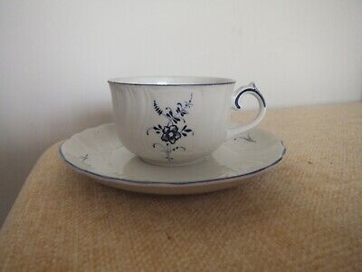 Villeroy & Boch Vieux Luxembourg Cup & Saucer • 13.95£