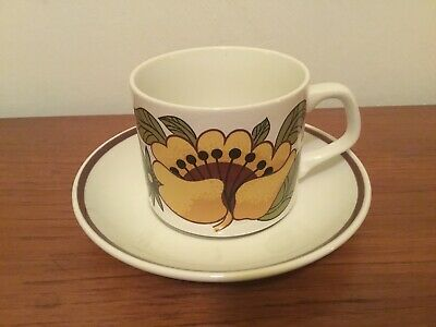 Meakin Studio Bermuda Cup And Saucer • 5£
