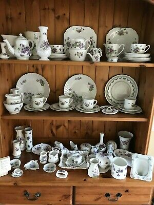 Large Collection Of Violet China • 50£
