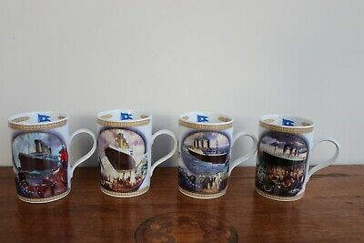 4 X Titanic Queen Of The Ocean Limited Edition Mugs By Davenport Pottery • 12£