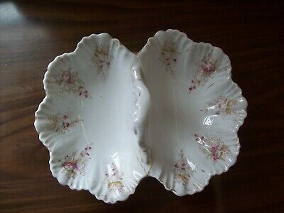 KPM Germany China Double Dish With Handle, Good Condition • 5£
