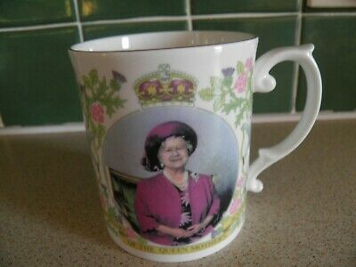 Sutherland 50th Anniversary Of Queen Mothers Accession Limited Edition 2000 Mug • 5£