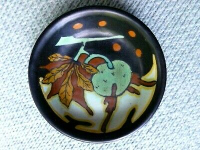 1920s Gouda Pin Dish, Design Called Chestnuts, Start Price Reduced • 13£
