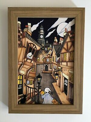 Moorcroft Wee Willy Winkie Wall Plaque Rare Best Quality RRP £865 • 599£