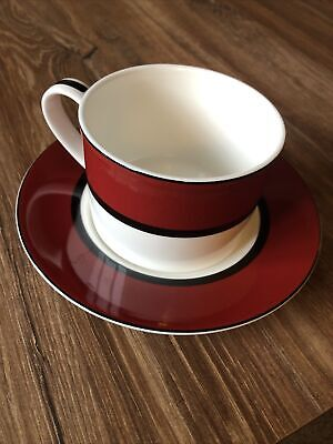 M&S - Manhattan - Cup And Saucer • 3.20£