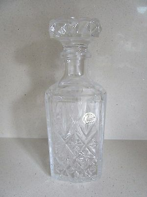 Heavy Glass Crystal Wine Whiskey Port Brandy Decanter Weight 1.6 Kg 9  Tall • 40£